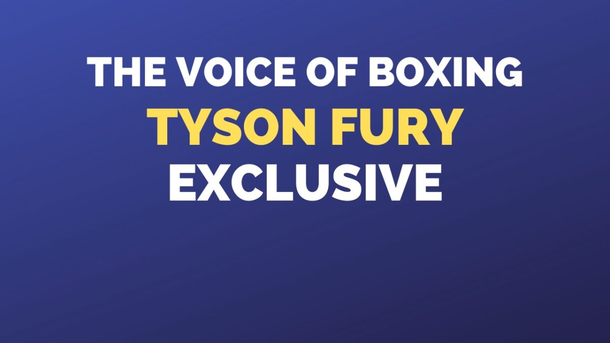 Tyson Fury Interview