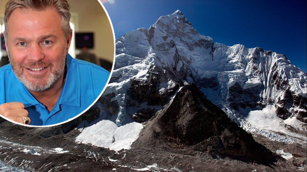 Glenn's Everest Summit Expedition in 2020